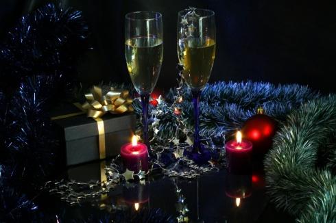 Nouveau toujours la vie avec champagne